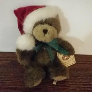 🌸3/$30🌸 Boyds The Head Bean Christmas bear